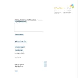 Agentur Mediasuite Dienstleister Für Word Professionelle