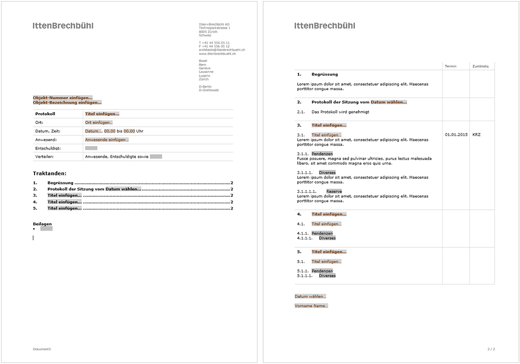Mediasuite – Office CI-Templates. Referenz Microsoft Office Vorlagen ...