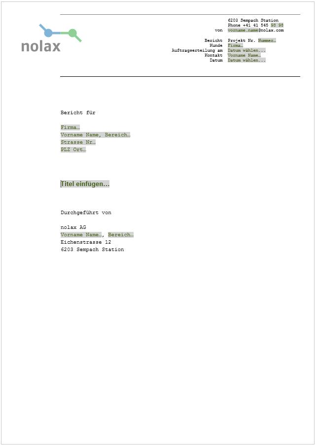Mediasuite – Agentur für Word und Powerpoint CI-Templates. Referenz ...